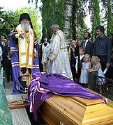 В швейцарском городе Веве состоялось отпевание и погребение епископа Амвросия (Кантакузена)