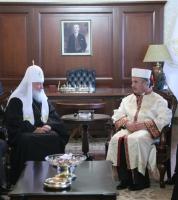 Предстоятель Русской Православной Церкви встретился с руководителем Управления по делам религии при правительстве Турецкой Республики