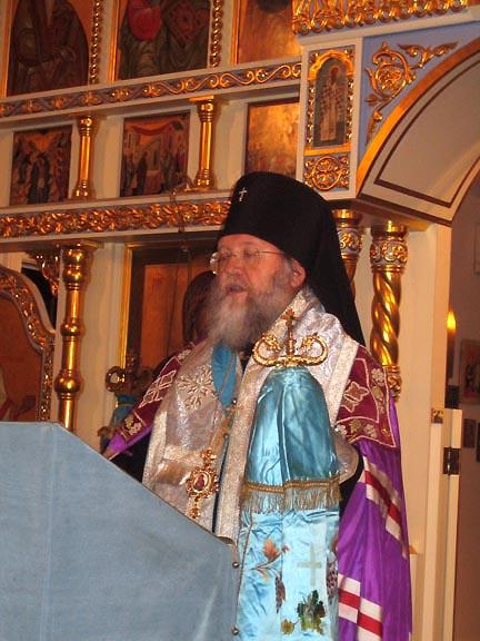 Заседание Архиерейского Синода Русской Зарубежной Церкви и заочное отпевание митрополита Виталия