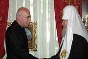 Состоялась встреча Святейшего Патриарха Московского и всея Руси Алексия II с генеральным секретарем Конференции Европейских Церквей