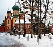 В Пюхтицком монастыре прошли богослужения по случаю 90-летия учреждения архиерейской кафедры в Ревеле