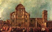 Из венецианской церкви Сан Заккариа в греческий монастырь на острове Кефалиния переданы пропавшие в XIV веке мощи трех святых