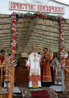 Проповедь Святейшего Патриарха Кирилла за Божественной литургией на Бутовском полигоне
