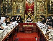 Началось заключительное заседание Предстоятелей и представителей Поместных Православных Церквей