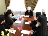 Состоялось внеочередное заседание Священного Синода Украинской Православной Церкви
