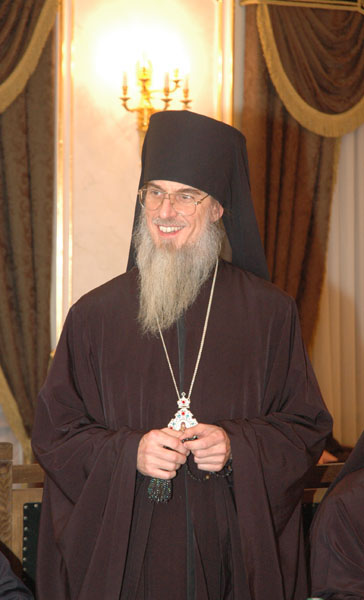 Встреча Святейшего Патриарха Алексия со архиереями, прошедшими курсы повышения квалификации в академии госслужбы при Президенте РФ
