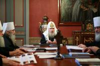ЖУРНАЛЫ заседания Священного Синода Русской Православной Церкви от 27 декабря 2007 года