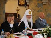 Святейший Патриарх Кирилл возглавил заседание Попечительского совета по подготовке празднования 100-летия Марфо-Мариинской обители милосердия
