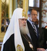 Слово Святейшего Патриарха Алексия на Пасхальном приеме в МИД РФ