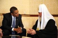 Состоялась встреча Святейшего Патриарха Кирилла с Президентом США Бараком Обамой