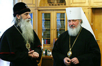 Председатель ОВЦС МП встретился со старообрядческим митрополитом Московским и всея Руси Корнилием