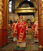 Слово Святейшего Патриарха Алексия после Божественной литургии в праздник Собора Архистратига Михаила и прочих Небесных Сил бесплотных