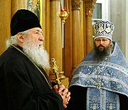 Первоиерарх Русской Зарубежной Церкви посетил московское Представительство Православной Церкви в Америке