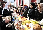 В Великую субботу Святейший Патриарх Кирилл посетил ряд московских храмов