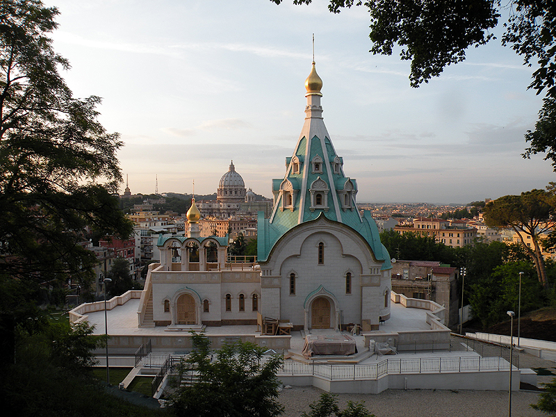 Великое освящение храма святой великомученицы Екатерины в Риме