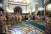 Патриаршее служение в Неделю Торжества Православия