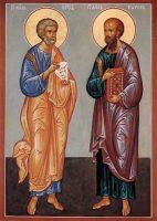 12 июля — праздник в честь славных и всехвальных первоверховных апостолов Петра и Павла