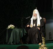 Встреча Святейшего Патриарха Кирилла с нижегородской молодежью. Ответы на вопросы