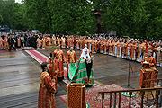 Святейший Патриарх Кирилл впервые совершил Божественную литургию на Бутовском полигоне