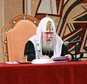 Святейший Патриарх Алексий возглавил работу Епархиального собрания г. Москвы