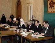 Патриаршее слово на открытии заседания Попечительского Совета по восстановлению Валаамского монастыря