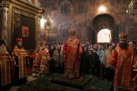Святейший Патриарх Алексий посетил Троице-Сергиеву Лавру