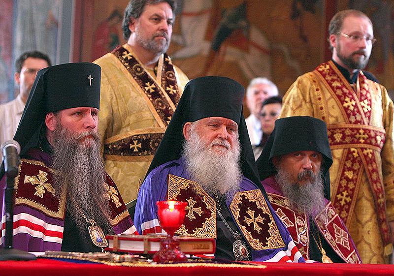 Наречение архимандрита Феодосия (Иващенко) во епископа Сиэтлийского