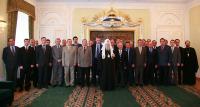 Состоялась встреча Святейшего Патриарха Алексия со слушателями Высших дипломатических курсов Дипакадемии МИД РФ