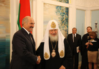 Состоялась встреча Святейшего Патриарха Кирилла с Президентом Республики Беларусь А.Г. Лукашенко