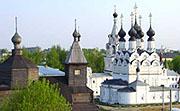 Благовещенский и Свято-Троицкий монастыри Мурома