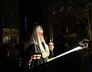 В четверг первой седмицы Великого поста Святейший Патриарх Кирилл совершил повечерие с чтением канона прп. Андрея Критского в Троице-Сергиевой лавре