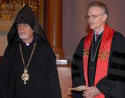 В армянском соборе Нью-Йорка состоялась церемония вступления в должность Президента и Генерального секретаря Национального Совета Церквей США