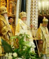 Слово Святейшего Патриарха Алексия в Храме Христа Спасителя в день тезоиментства Его Святейшества