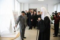 Предстоятель Русской Церкви ознакомился с проектом памятника святителю Николаю Чудотворцу в Калининграде