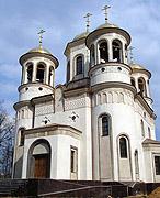 Святейший Патриарх Алексий совершил первую Божественную литургию в возрожденном Вознесенском храме Звенигорода