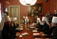 ЖУРНАЛЫ заседания Священного Синода Русской Православной Церкви от 16 мая 2007 года