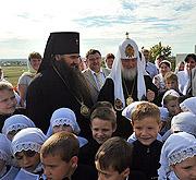 Святейший Патриарх Кирилл посетил арзамасскую православную гимназию и провел совещание Ассоциации православных гимназий ПФО