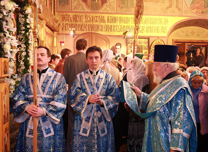 Патриаршее служение в день празднования Казанской иконы Божией Матери