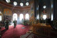 Святейший Патриарх Кирилл совершил Божественную литургию в Спасо-Преображенском соборе Валаамского монастыря