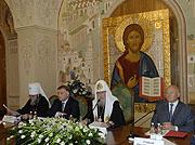 В Москве состоялось III заседание Попечительского совета программы 'Возрождение Марфо-Мариинской обители милосердия'