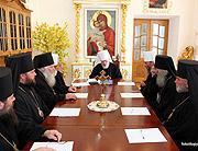 В Почаевской лавре состоялось очередное заседание Священного Синода Украинской Православной Церкви
