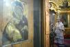 Служение Местоблюстителя Патриаршего престола в Крещенский сочельник в храме свт. Николая в Толмачах