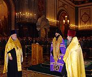 В Храме Христа Спасителя начались торжества по случаю 60-летия со дня основания ядерного оружейного комплекса России