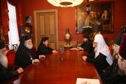 Святейший Патриарх Московский и всея Руси Кирилл встретился с Блаженейшим Папой и Патриархом Александрийским и всей Африки Феодором II