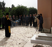 В Русской духовной миссии в Иерусалиме почтили память первого вице-консула Российской империи в Яффе В.Н. Тимофеева
