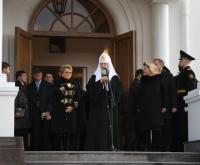 Патриаршее слово после Божественной литургии в новоосвященном Петропавловском храме в Сестрорецке