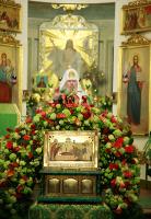 В день памяти святого благоверного князя Даниила Московского Святейший Патриарх Алексий совершил богослужения в Даниловом монастыре