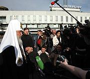 Предстоятель Русской Церкви: Нынешний Патриарший визит связан с событием большого исторического значения