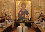 XVI заседание Советов по изданию 'Православной энциклопедии' возглавил Святейший Патриарх Алексий