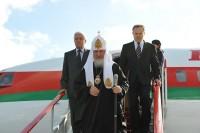 Начался Первосвятительский визит Святейшего Патриарха Кирилла в Белоруссию